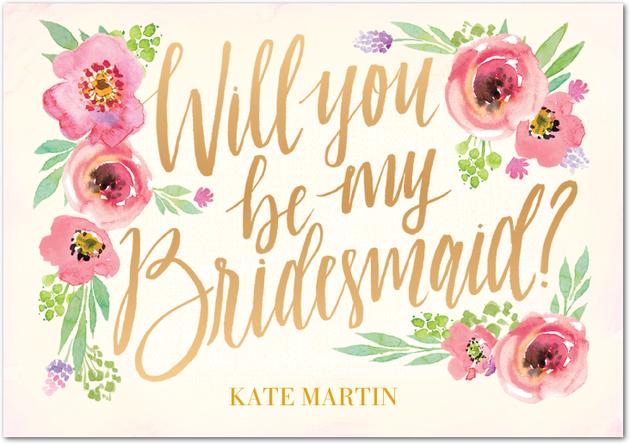 10 free bridesmaid cards southern savers