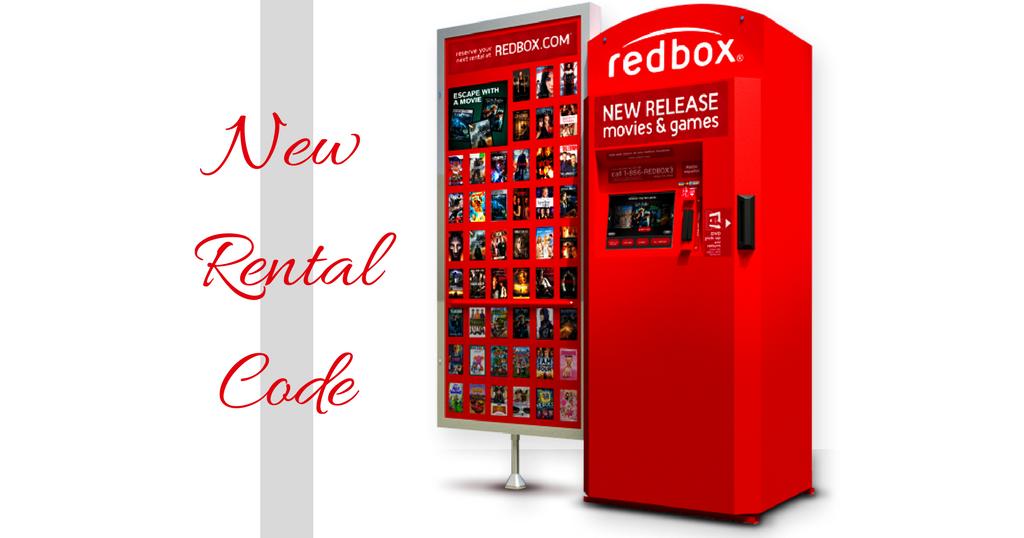 Redbox video game coupon code