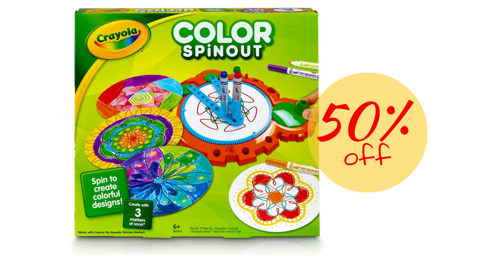 Up To 50% Off Crayola Products