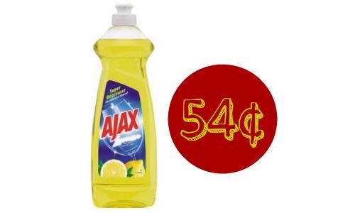 Ajax Coupon 54 Dish Liquid Southern Savers