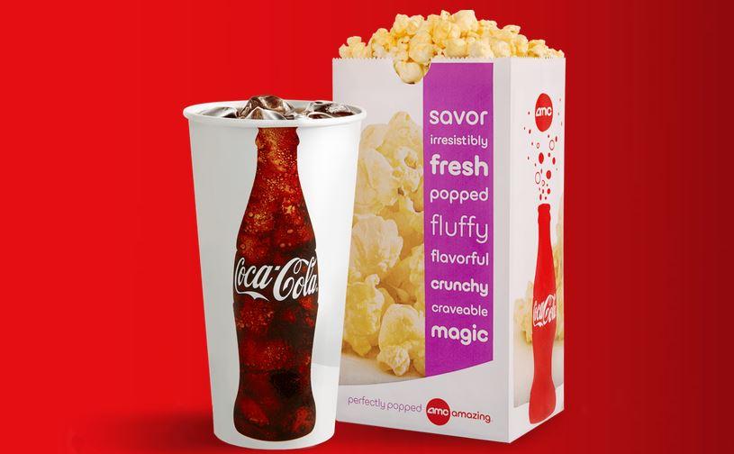 amc  fountain drink  u0026 popcorn for  5    southern savers
