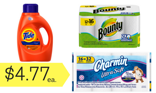 bounty and tide coupons