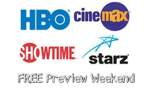starz free weekend directv