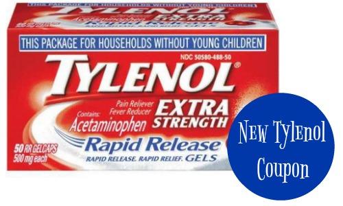 image regarding Tylenol Printable Coupon identify Tylenol Coupon $3.49 Fast Launch Gels :: Southern Savers