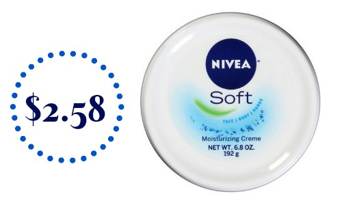 Nivea & Eucerin Coupon | $2.58 Moisturizing Cream