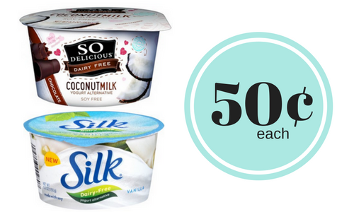 silk dairy free yogurt