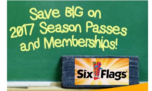 six flags season pass phone number - six flags america bowie 2018 ...