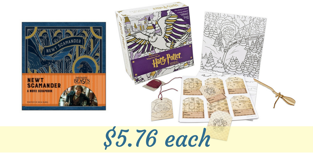 Harry Potter Book Set Target ~ Target cartwheels harry potter themed items for