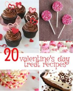 Here is a list of Valentine's Day recipes for sweet treats that would be perfect for your dinner date or for packaging up to give to your friends.