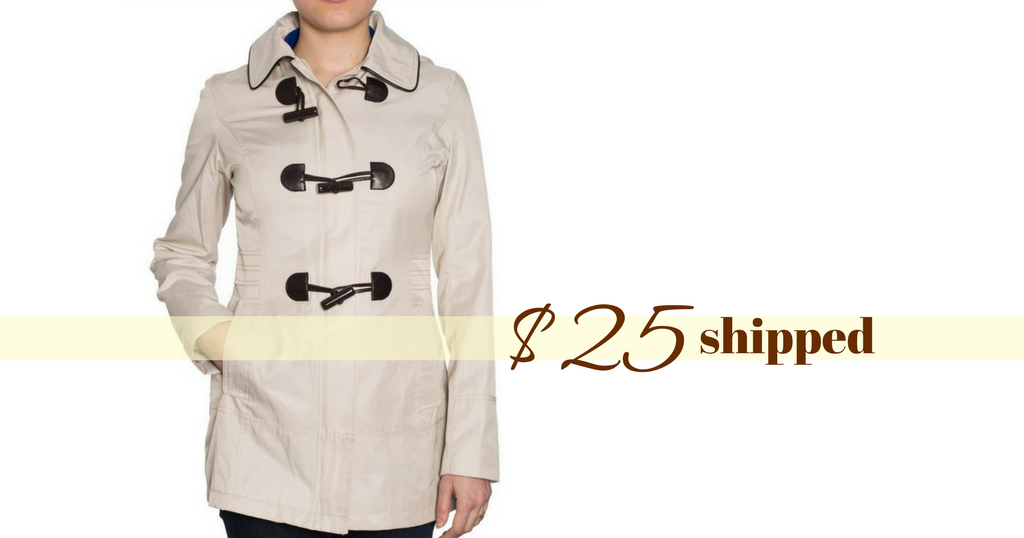 Laundry By Design Trench Coat | Coats Direct Coupon Code Laundry By Design Jacket 25 Shipped