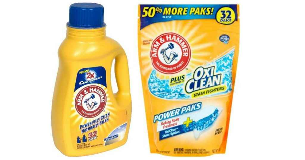 photo relating to Arm and Hammer Coupons Printable named Arm Hammer Detergent For 98¢ :: Southern Savers