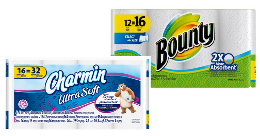 picture about Bounty Printable Coupons identify Bounty Charmin Coupon codes $2.99 Tub Tissue :: Southern Savers