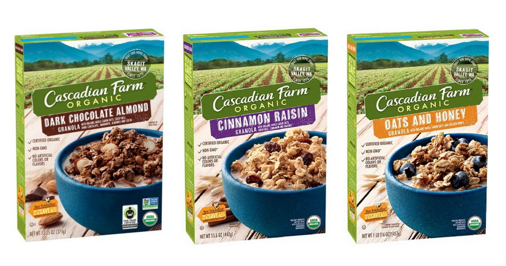 cascadian farms granola
