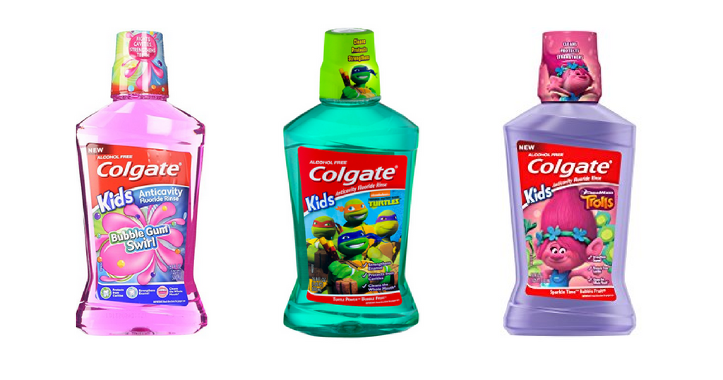 colgate kids mouthwash