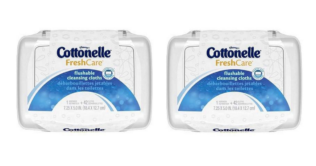 cottonelle flushable wipes