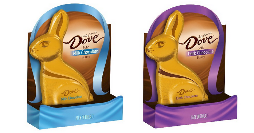 dove chocolate bunny