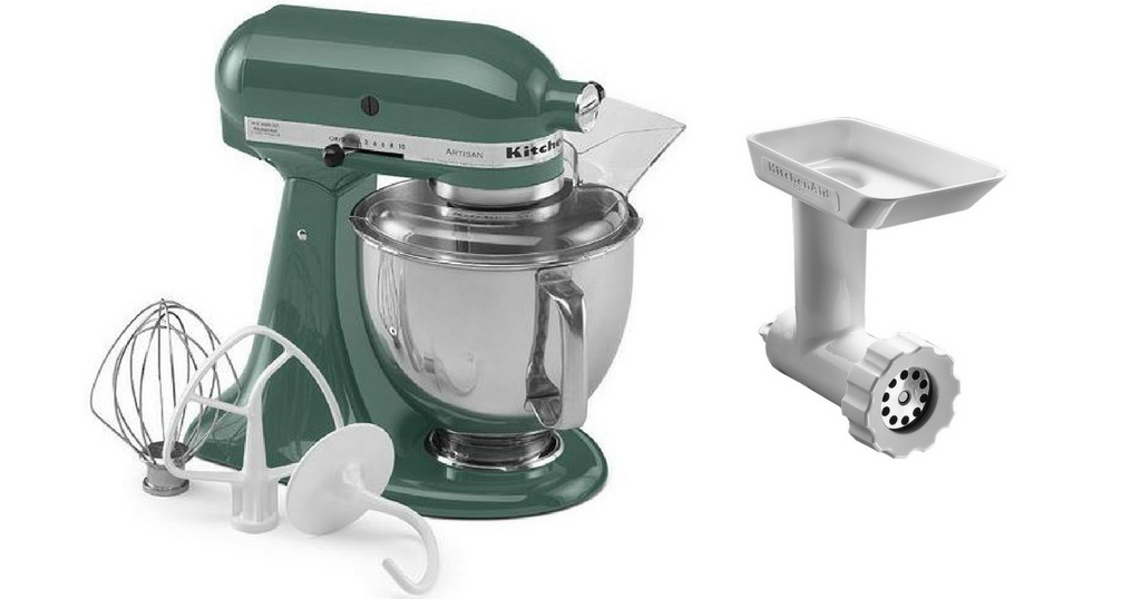 Kitchenaid Mixer For 177 49 Free Food Grinder