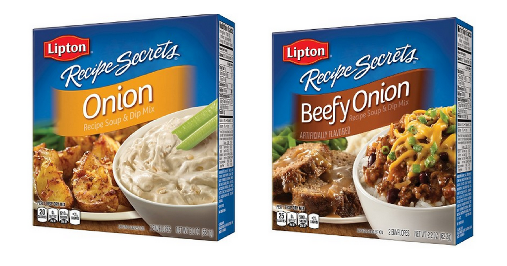 lipton recipe sercets