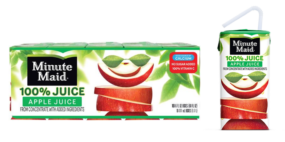 Minute Maid Juice Boxes 2 14 on apple juice clip art