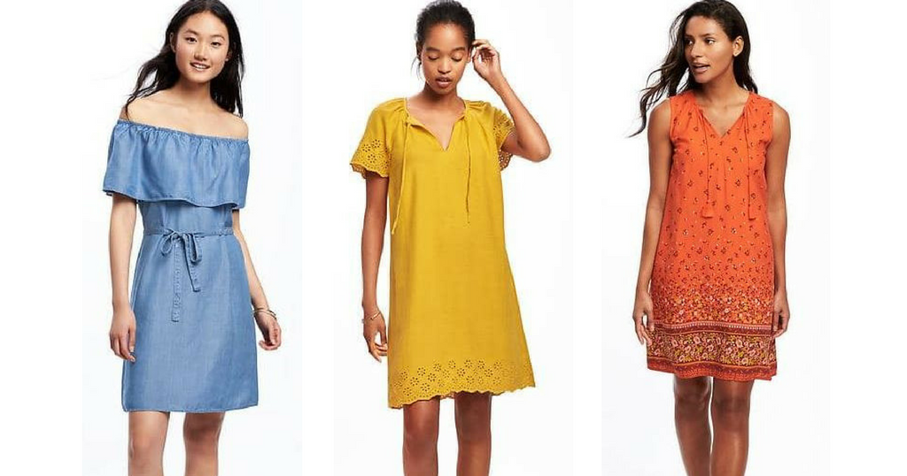 Old Navy Deal Up To 50 Off Dresses Accessories And