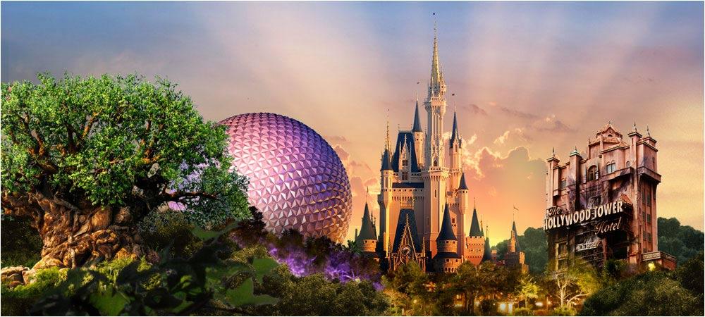 Walt Disney World 4 Park Magic Ticket 79 Per Day