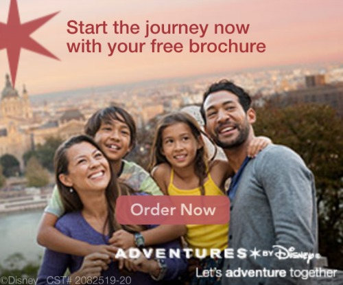 disney adventures free brochure