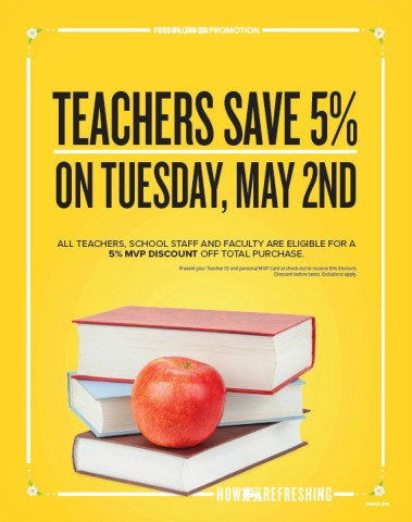 Teacher Appreciation Week 2017 Freebies: 2017 Teacher Appreciation Week Freebies & Discounts    Southern Savers,