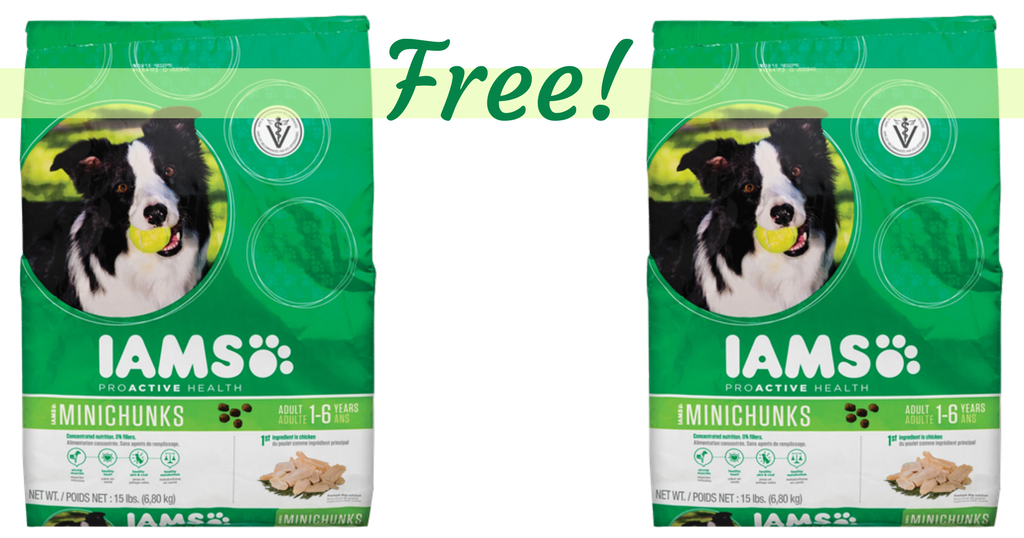 Buy One Get One Free Iams Dog Food Coupons