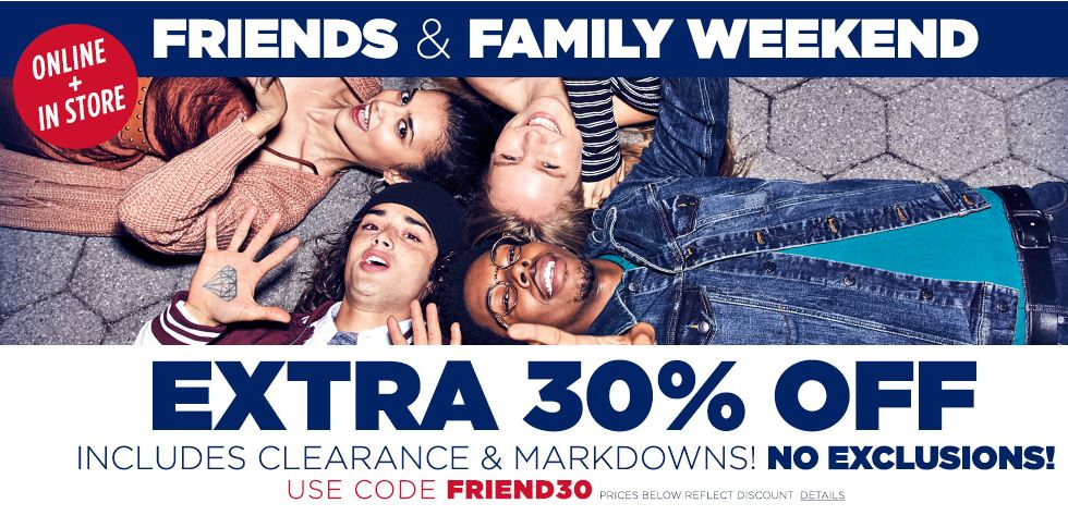 Aeropostale Coupon Code Extra 30 Off Clearance Southern Savers