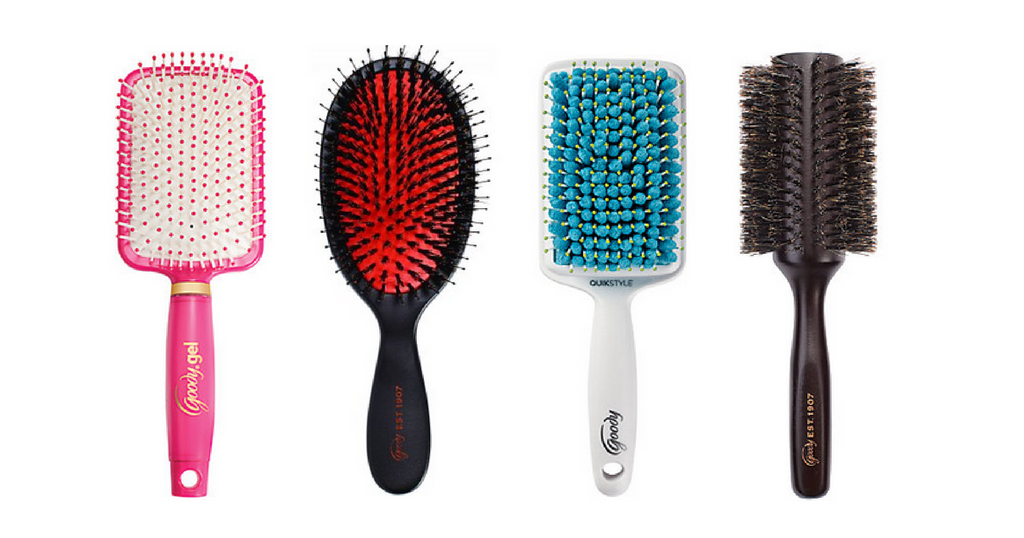 goody hair brushes