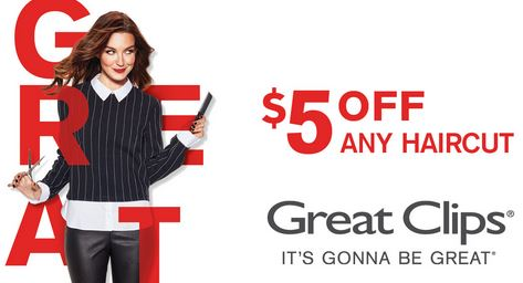 Great Clips Promotions. Moreover, Check out the latest and greatest promotions and partners that going this month. They are always adding more so check back often for updates. Furthermore, We provide % working Great Clips coupons or printable coupons. We updated Great Clips coupon on .
