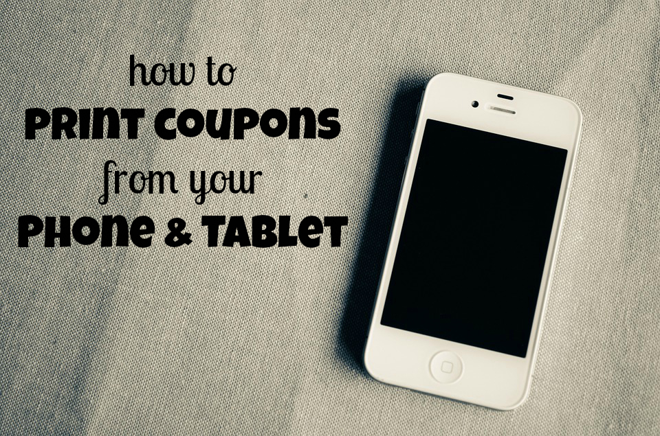How to print target coupons from ipad