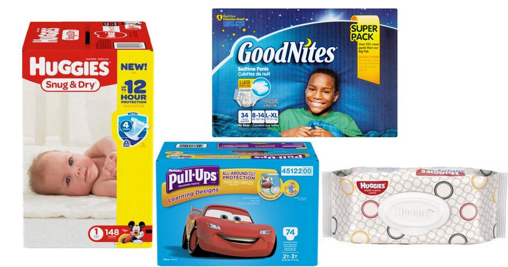 Huggies Super Pack Diapers 15 76 Ea Free Wipes