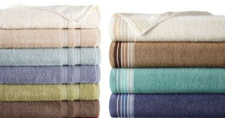 JCPenney: Bath Towels for $2.56 :: Southern Savers
