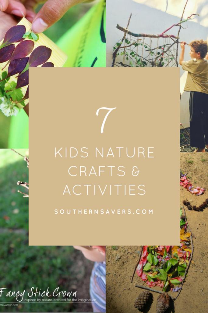 7 Kids Nature Craft Ideas Southern Savers