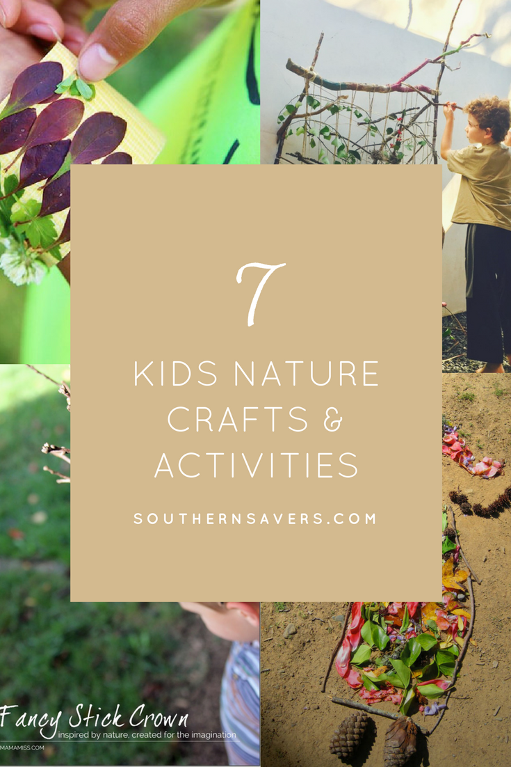7 Kids Nature Craft Ideas Southern Savers