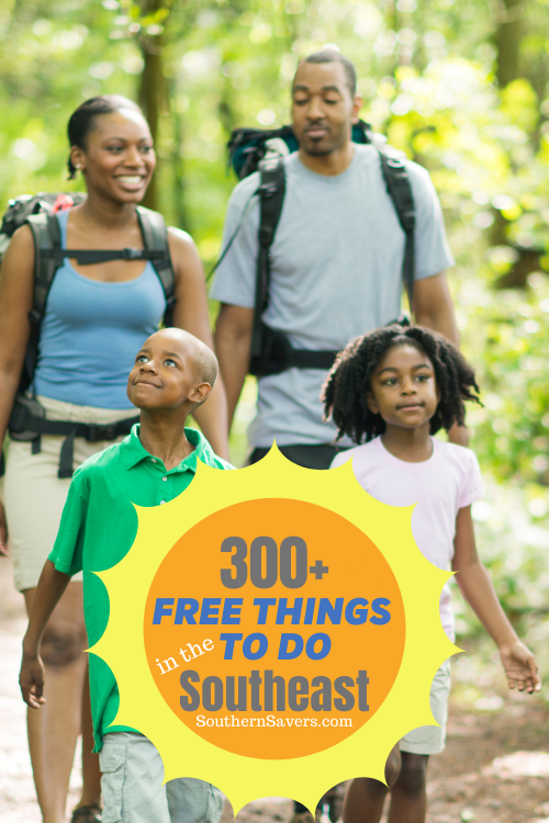 To help you find fun and educational ways to thrive with your children this summer at home or away, here's a list of free activities across the Southeast.