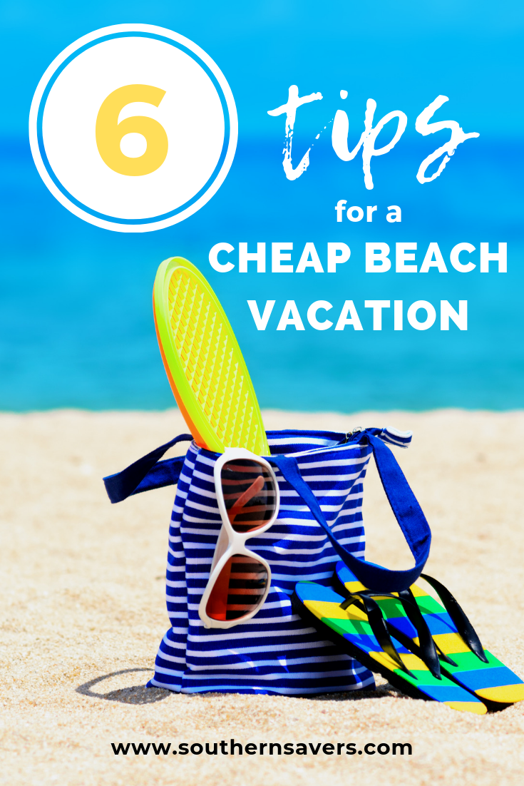 Heading to the beach doesn't have to be expensive. Here are my top 6 tips for a cheap beach vacation so you can make the most out of your time away!