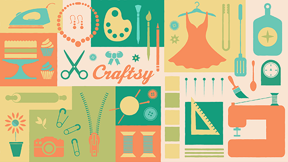 craftsy unlimited 14 day subscription trial for 1 today only