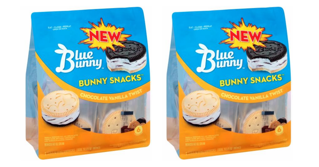 blue bunny snacks