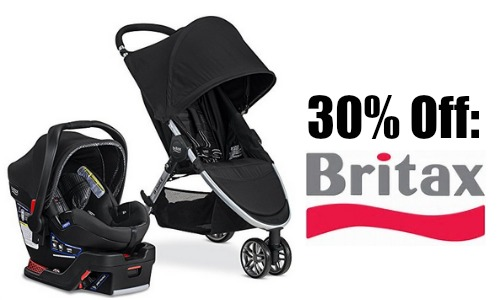 Britax products can be found in various stores, and when purchasing that way coupons and discounts for that store can be used towards the Britax items. These deals can range from 15% off, to five dollars off, etc. depending on the store you choose to shop at.