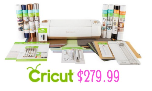 Cricut Explore Air Gold Machine Starter Set 279 99
