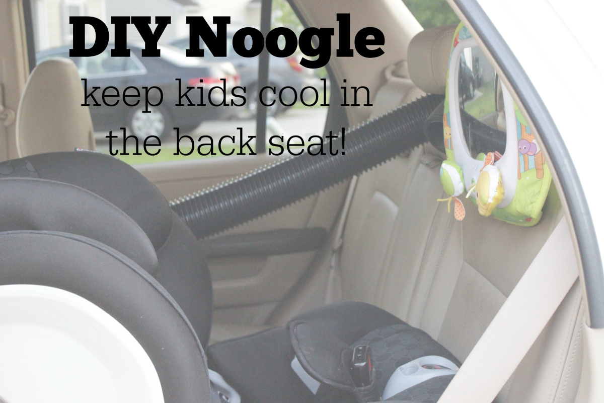 Diy Noogle Keep Kids Cool In The Backseat