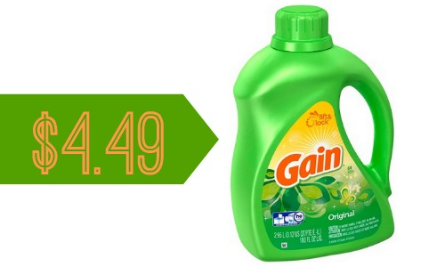 Gain Coupon 100 Oz Detergent For 4 49 Southern Savers