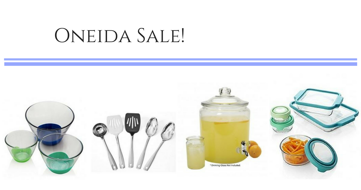 Oneida coupon code