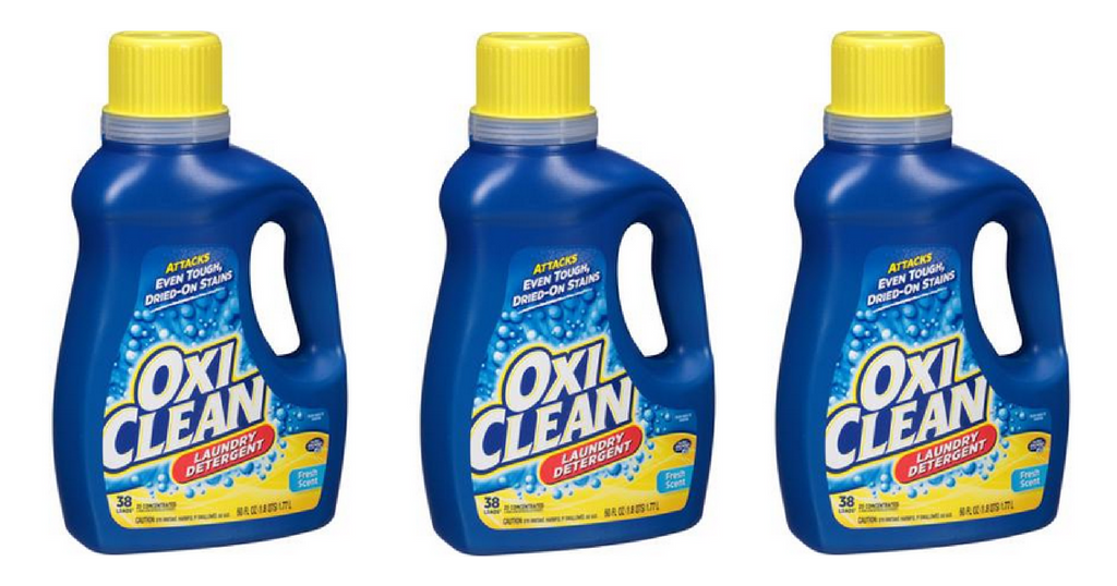 oxiclean laundry detergent