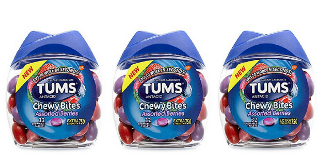 picture regarding Tums Coupon Printable named Fresh new Tums Discount coupons Chewy Delights, $2.34 :: Southern Savers