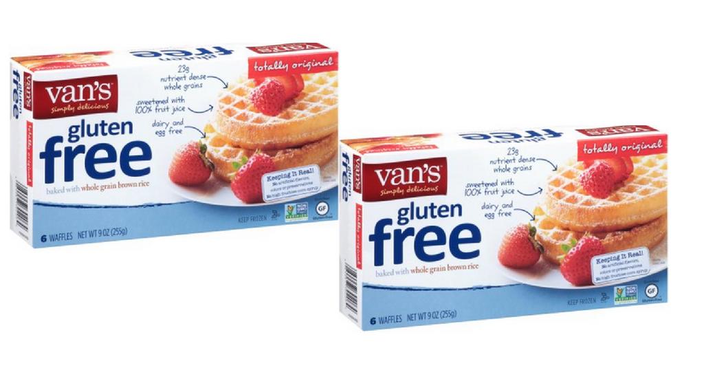 van's gluten free waffles