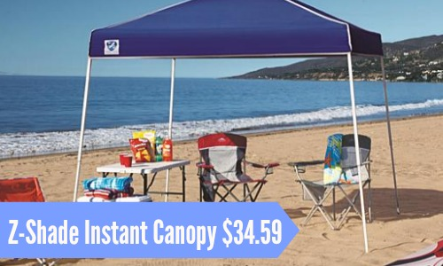 Z-Shade 10×10 Instant Canopy $34.59 & Z-Shade 10x10 Instant Canopy $34.59 :: Southern Savers