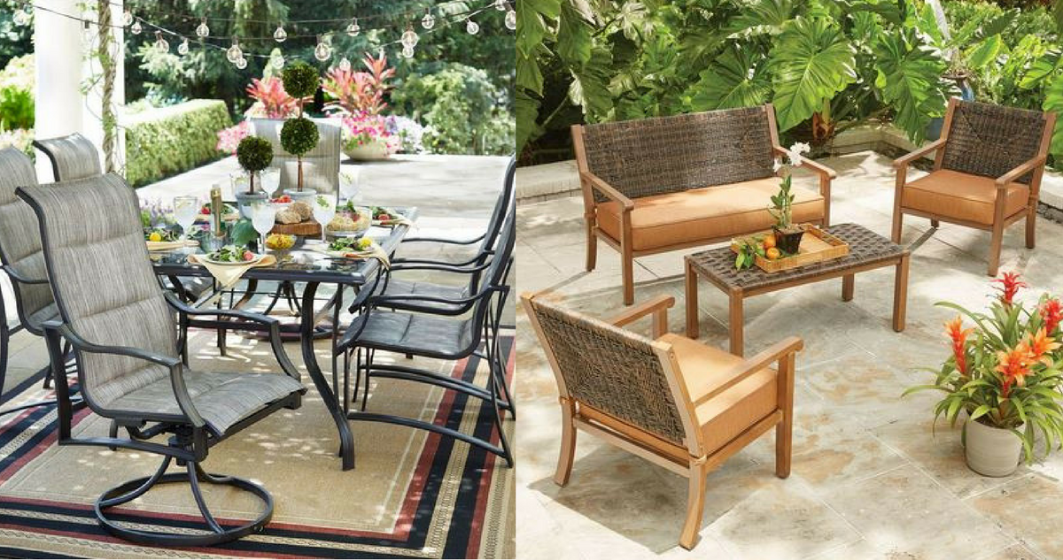 Home Depot Patio Sale Up To 40 Off Select Items Today